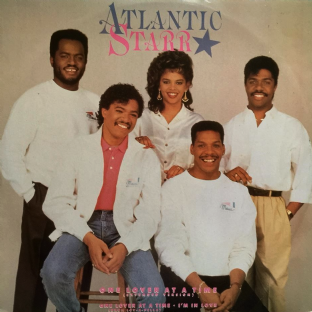 "Atlantic Starr - One Lover At A Time (12"") (VG+/VG)"